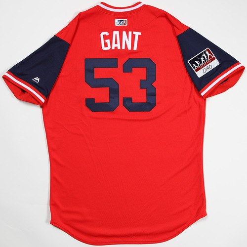 "Photo of John ""Gant"" Gant St. Louis Cardinals Game-Used 2018 Players' Weekend Jersey"
