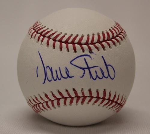 Photo of BLUE JAYS AUTHENTICS-Autographed Dave Stieb Baseball