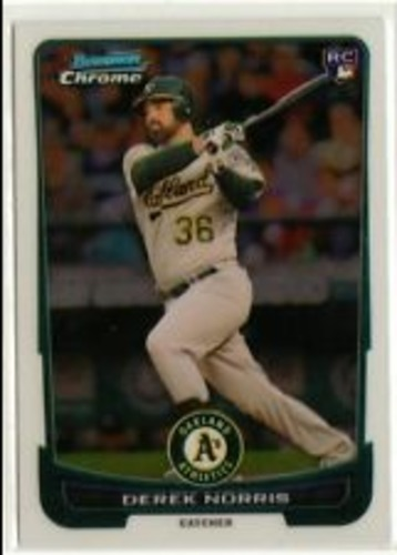 Photo of 2012 Bowman Chrome Draft #43 Derek Norris RC