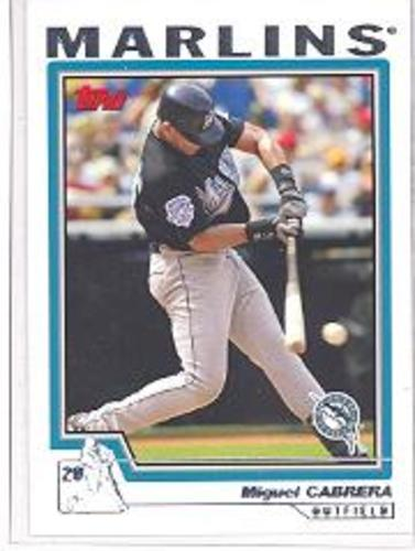 Photo of 2004 Topps #575 Miguel Cabrera