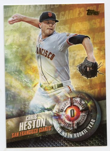 Photo of 2016 Topps Record Setters #RS10 Chris Heston