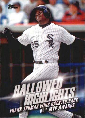 Photo of 2016 Topps Hallowed Highlights #HH4 Frank Thomas