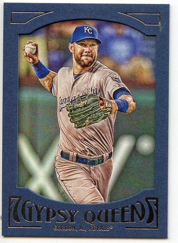 Photo of 2016 Topps Gypsy Queen Framed Blue #87 Alex Gordon