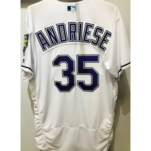 Photo of 2018 Team Issued Devil Rays Jersey: Matt Andriese (size 46)