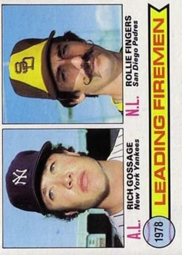 Photo of 1979 Topps #8 Leading Firemen/Rich Gossage/Rollie Fingers