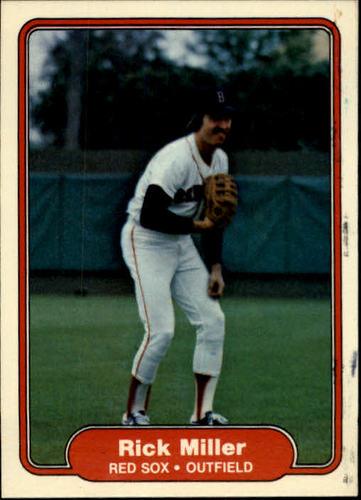 Photo of 1982 Fleer #299 Rick Miller
