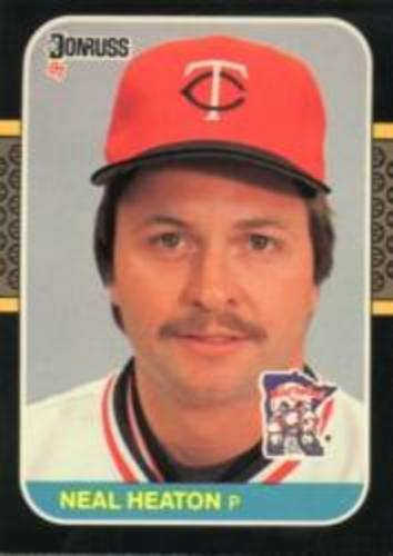 Photo of 1987 Donruss #615 Neal Heaton