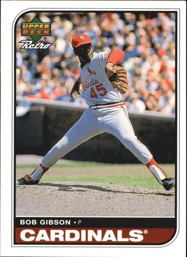 Photo of 1998 Upper Deck Retro #79 Bob Gibson