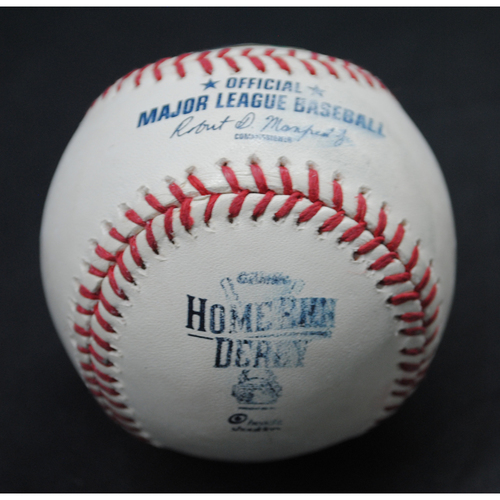 Photo of 2015 All Star Game Home Run Derby (07/13/15) - Game-Used Baseball - Josh Donaldson - Round 2, Out