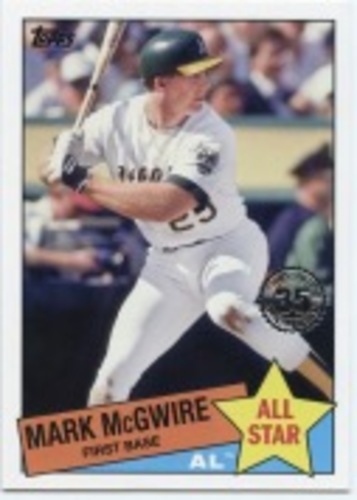 Photo of 2020 Topps '85 Topps All Stars #85AS8 Mark McGwire