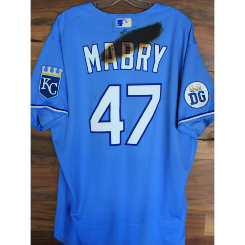 Photo of Alex's Lemonade Stand Foundation: Game-Used John Mabry Jersey (Size 50 - 9/26/20 DET @ KC)
