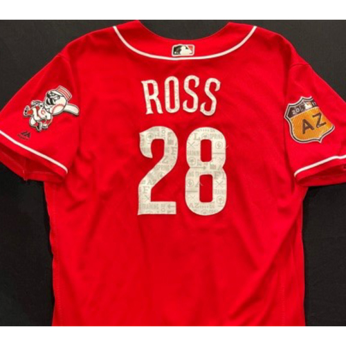 Photo of ROSS -- Authentic Reds Jersey -- $1 Jersey Auction -- $5 Shipping -- Size 46 (Not MLB Authenticated)