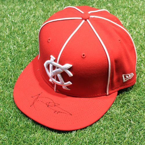 Photo of Game-Used & Autographed Hat: Vance Wilson #25 (DET @ KC 5/23/21) - Size 7 3/8