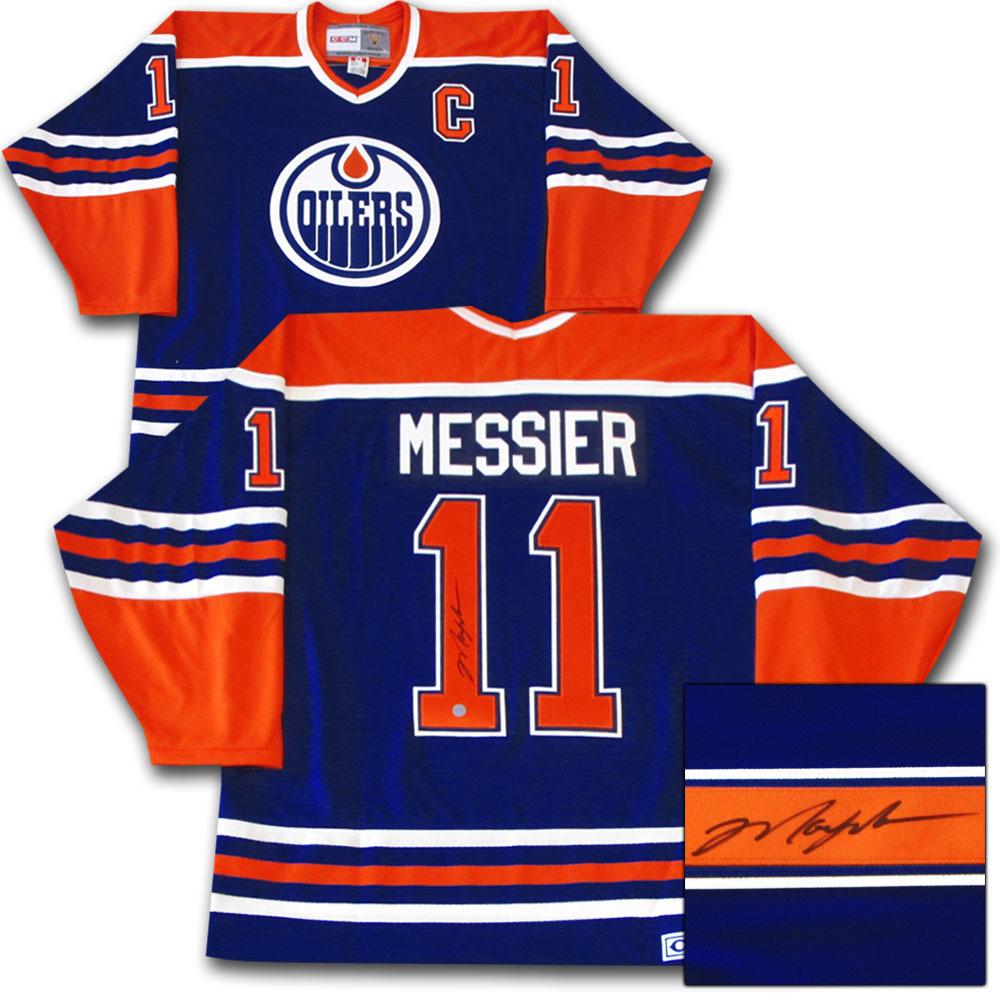 Mark Messier Autographed Edmonton Oilers Jersey