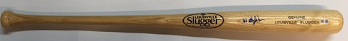 Willy Adames Autographed Louisville Slugger Bat