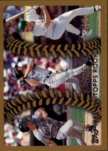 Photo of 1999 Topps #457 Lee/Helton/Grieve AT