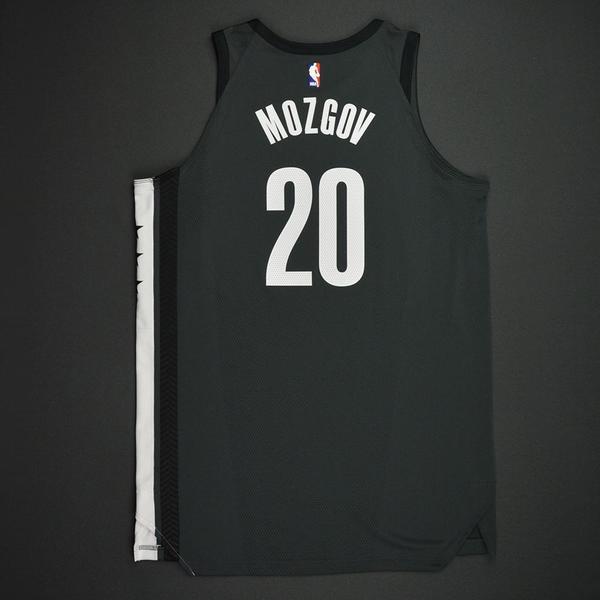 Timofey Mozgov - Brooklyn Nets - Statement Game-Worn Jersey ...