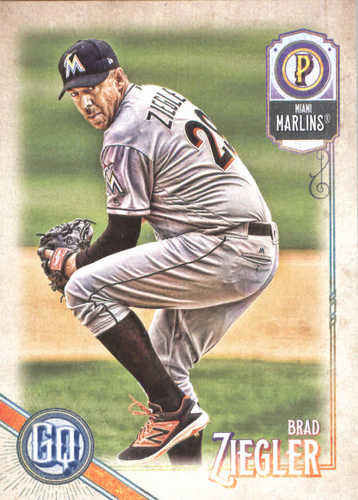 Photo of 2018 Topps Gypsy Queen #228 Brad Ziegler