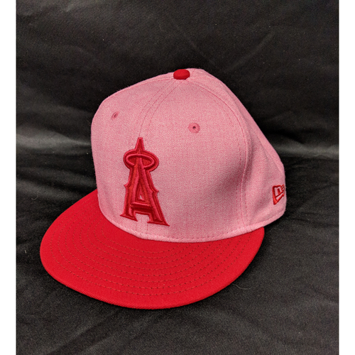 Photo of Mike Trout Game-Used 2018 Mother's Day Cap