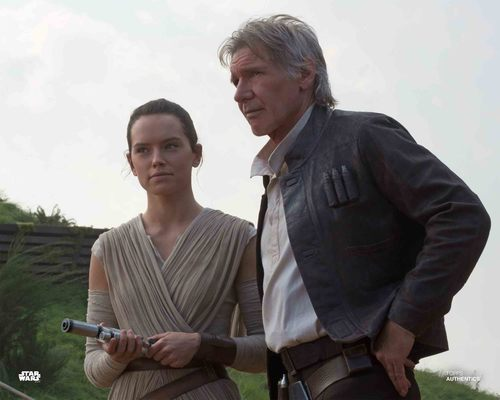 Han Solo and Rey