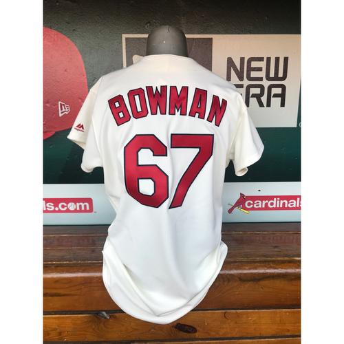 Photo of Cardinals Authentics: Team Issued Matt Bowman Turn Back the Clock Jersey