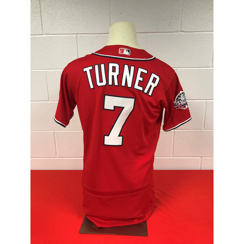 100% authentic ad25b 6f93a MLB Auctions | Trea Turner Game-Used Washington Nationals ...