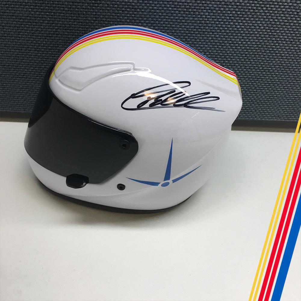 NASCAR's Christopher Bell Autographed mini helmet!