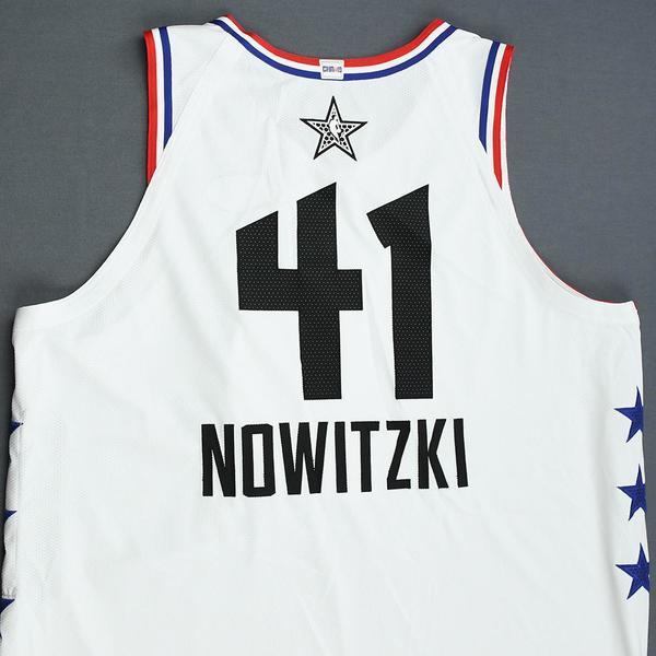 online store 21121 fd2bc Dirk Nowitzki - 2019 NBA All-Star Game - Team Giannis - Game ...