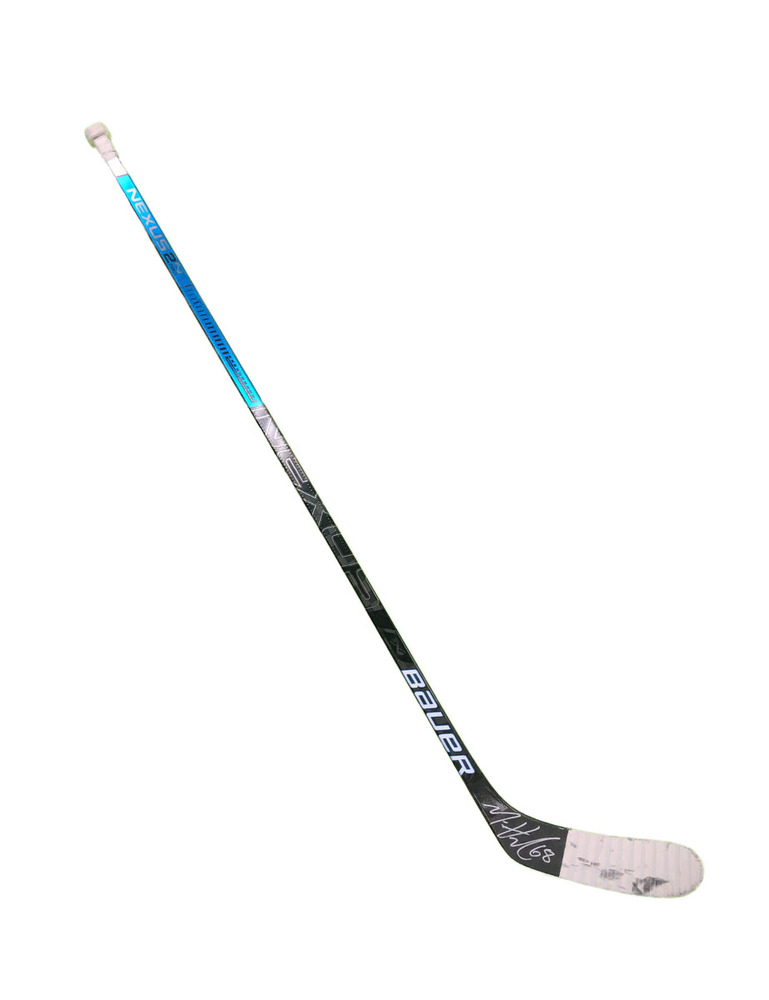 #68 Mike Hoffman Game Used Stick - Autographed - Florida Panthers