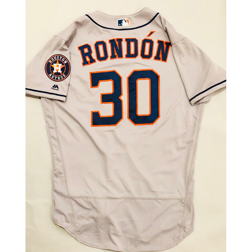 Photo of 2019 Mexico Series - Game-Used Jersey - Hector Rondon, Houston Astros at Los Angeles Angels - 5/4/19