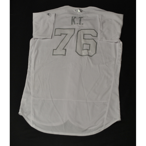 "Photo of Kleininger ""KT"" Teran St. Louis Cardinals Game-Used 2019 Players' Weekend Jersey"