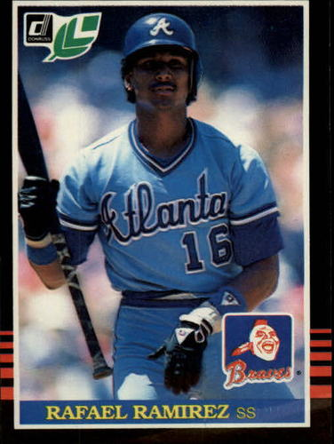 Photo of 1985 Leaf/Donruss #86 Rafael Ramirez
