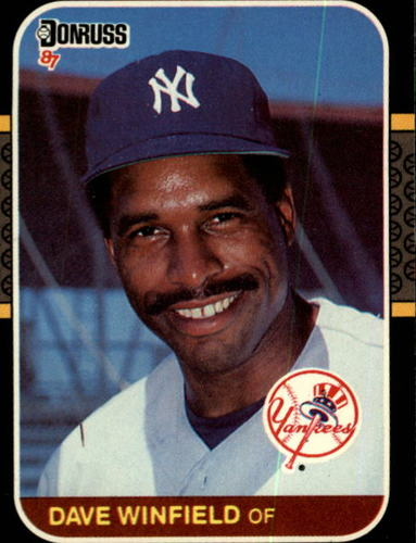 Photo of 1987 Donruss #105 Dave Winfield