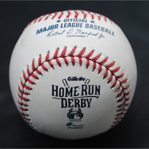 Photo of 2015 All Star Game Home Run Derby (07/13/15) - Game-Used Baseball - Todd Frazier - Round 2, Out