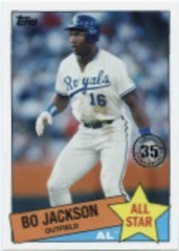 Photo of 2020 Topps '85 Topps All Stars #85AS11 Bo Jackson