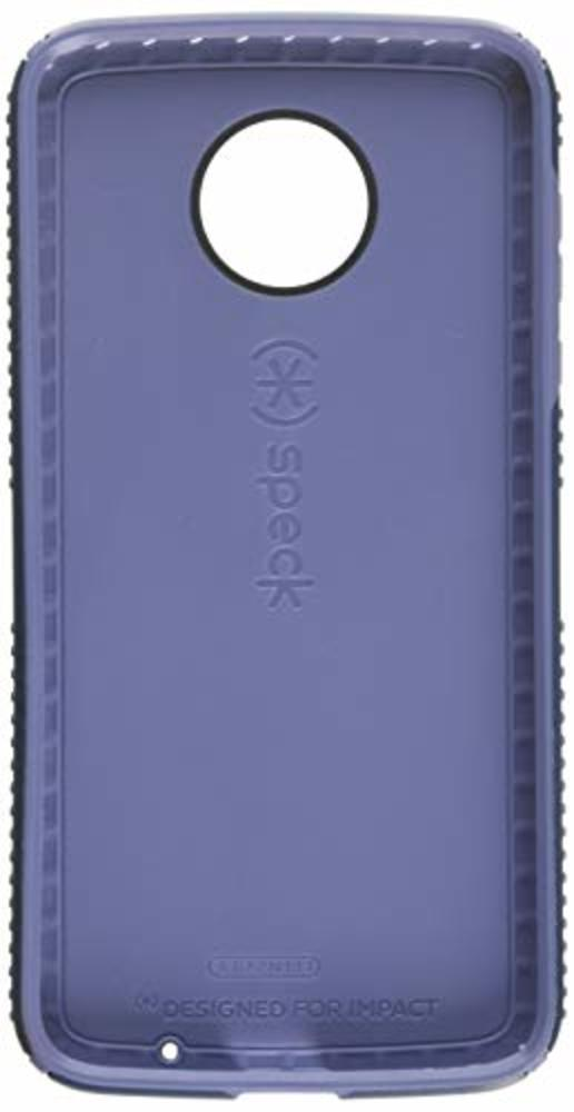 Photo of Speck Products Presidio Grip Cell Phone Case for Moto Z2 Force Edition - Marine Blue/Twilight Blue
