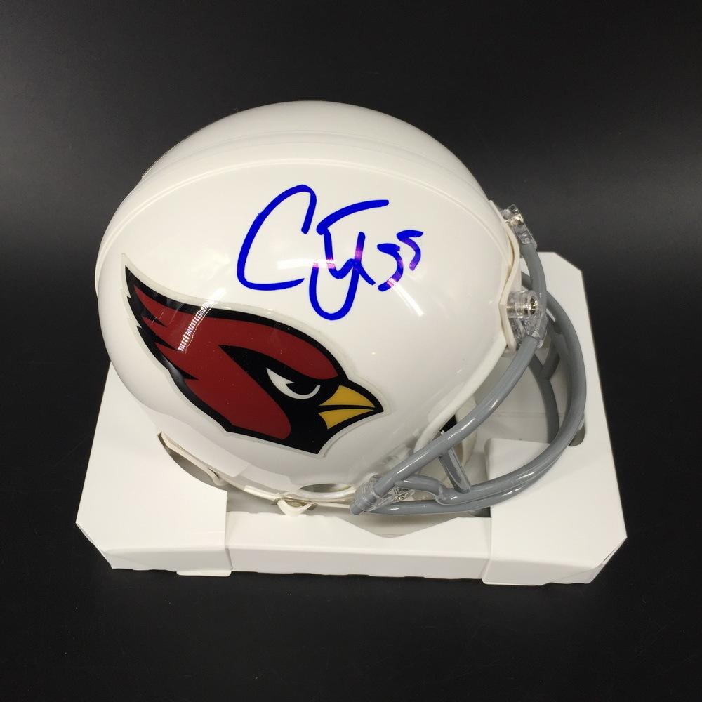 NFL - Cardinals Chandler Jones Signed Mini Helmet