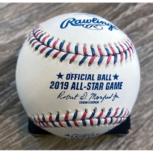 Photo of UMPS CARE AUCTION: 2019 All-Star Game Crew Signed Baseball