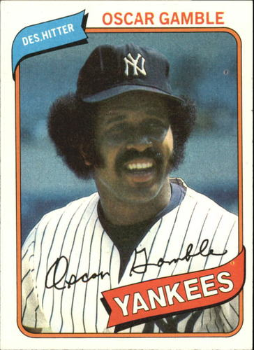 Photo of 1980 Topps #698 Oscar Gamble