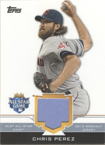 Photo of 2012 Topps Update All-Star Stitches #CP Chris Perez