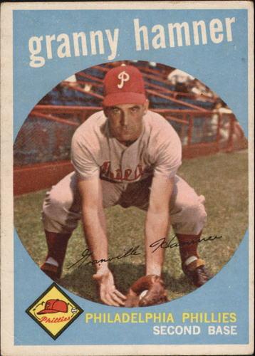 Photo of 1959 Topps #436 Granny Hamner