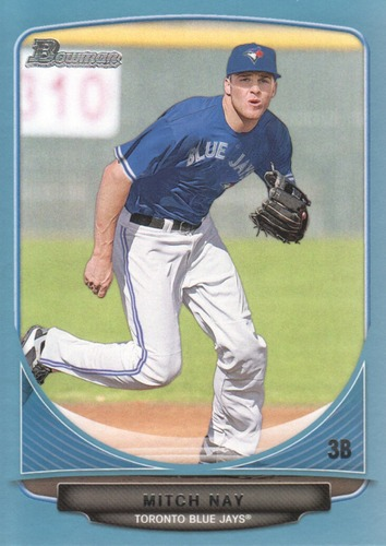 Photo of 2013 Bowman Prospects Blue #BP17 Mitch Nay