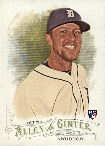 Photo of 2016 Topps Allen and Ginter #286 Guido Knudson RC