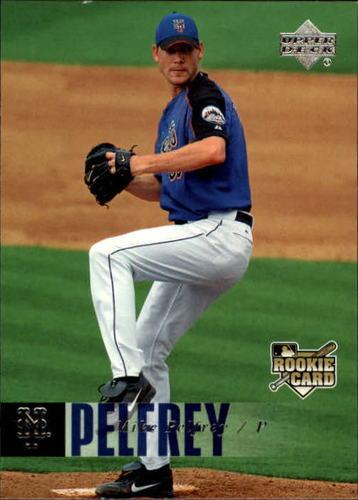 Photo of 2006 Upper Deck #1127 Mike Pelfrey RC