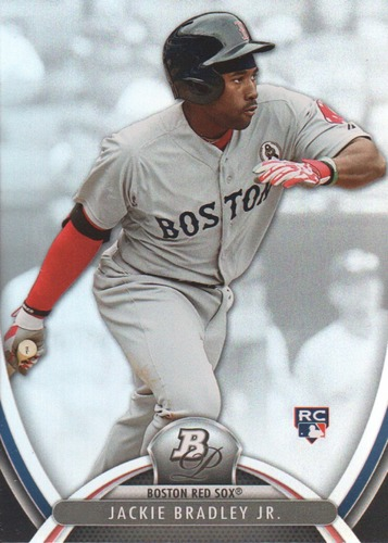 Photo of 2013 Bowman Platinum #84 Jackie Bradley Jr. Rookie Card