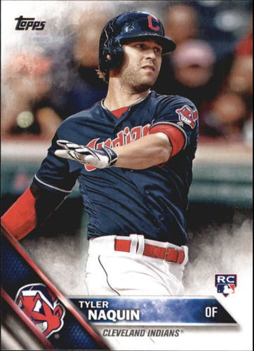 Photo of 2016 Topps Update #US117A Tyler Naquin Rookie Card