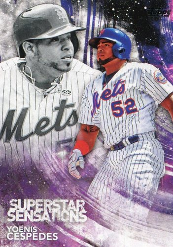 Photo of 2018 Topps Superstar Sensations #SSS49 Yoenis Cespedes