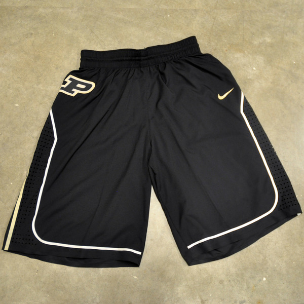 Photo of Black Nike Men's Basketball Official Game Shorts // Size 42 +4 length
