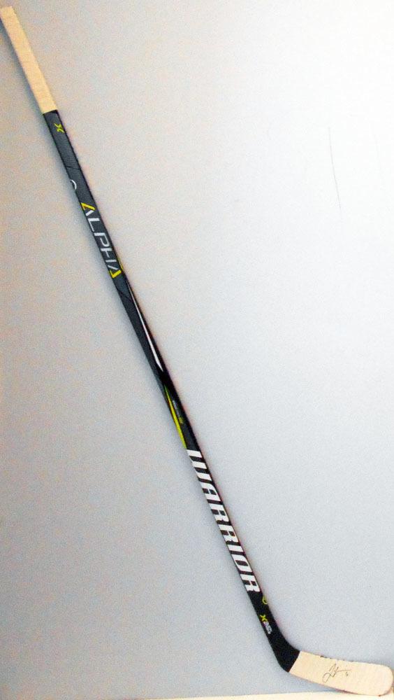 #6 JamieOleksiak Game Used Stick - Autographed - Pittsburgh Penguins