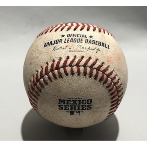 2018 Mexico Series - Pitcher - Brad Hand, Batter - Chris Taylor (Single) Batter - Enrique Hernandez (Foul) - 05/05/18